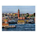 Paisaje urbano de Helsingor, Dinamarca Postal