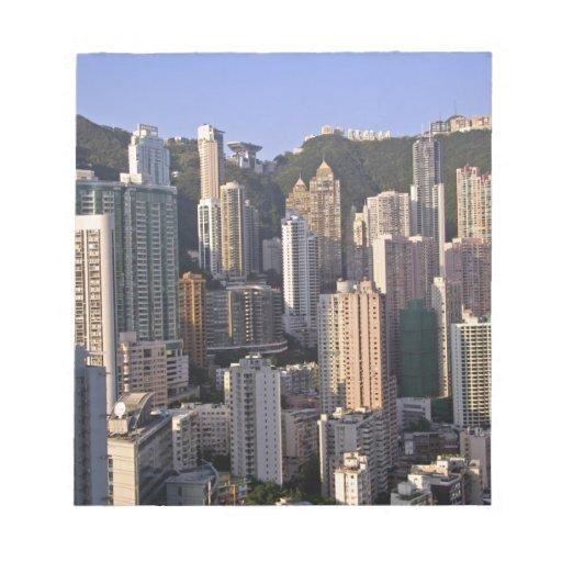 Paisaje urbano de Hong Kong, China Bloc