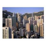 Paisaje urbano de Hong Kong, China Postales