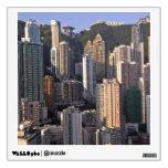 Paisaje urbano de Hong Kong, China Vinilo