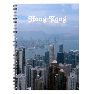 Paisaje urbano de Hong Kong Cuadernos