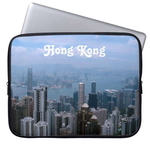 Paisaje urbano de Hong Kong Funda Ordendadores