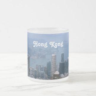 Paisaje urbano de Hong Kong Tazas De Café
