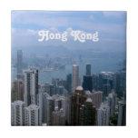 Paisaje urbano de Hong Kong Teja Ceramica