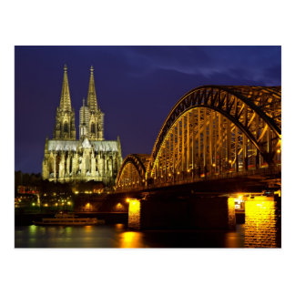 Paisaje urbano de la postal de Colonia