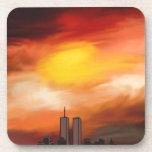 Paisaje urbano de la puesta del sol de Nicole Whit