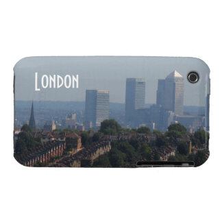 Paisaje urbano de Londres - foto amarilla del muel iPhone 3 Case-Mate Cobertura