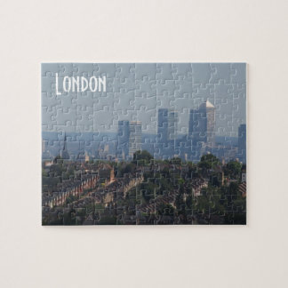 Paisaje urbano de Londres - foto amarilla del muel Rompecabezas