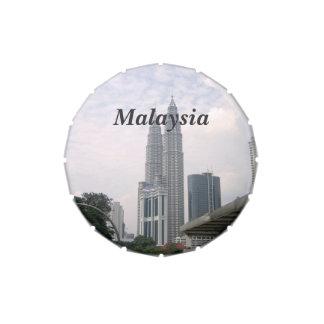 Paisaje urbano de Malasia Jarrones De Dulces