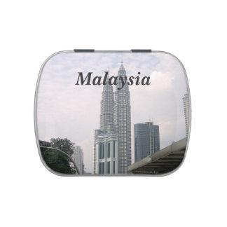 Paisaje urbano de Malasia Frascos De Caramelos
