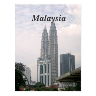 Paisaje urbano de Malasia Postales