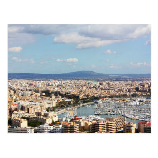 Paisaje urbano de Mallorca Tarjetas Postales