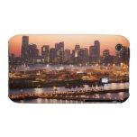 Paisaje urbano de Miami iPhone 3 Case-Mate Protectores