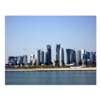 Paisaje urbano de Mondern - Doha en 2012 Postal