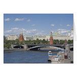 Paisaje urbano de Moscú Tarjeta