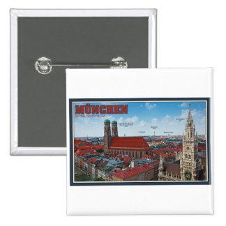 Paisaje urbano de Munich Pins