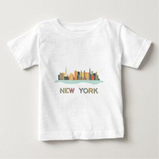 Paisaje urbano de Nueva York Tee Shirts