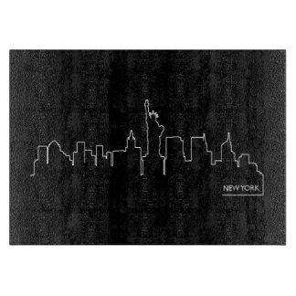 Paisaje urbano de Nueva York Tablas De Cortar