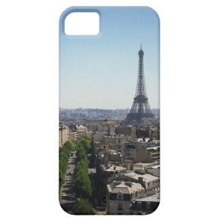 Paisaje urbano de París, Francia iPhone 5 Cárcasa