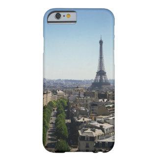 Paisaje urbano de París, Francia Funda Para iPhone 6 Barely There