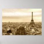 paisaje urbano de París Impresiones