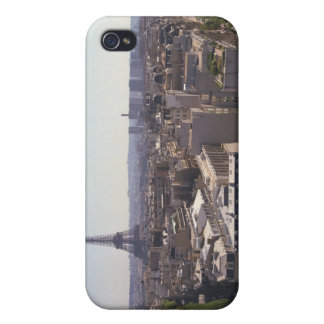 Paisaje urbano de París, París, Francia iPhone 4 Cárcasa