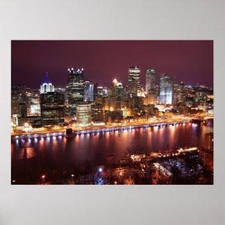 Paisaje urbano de Pittsburgh Impresiones