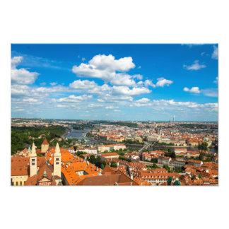 Paisaje urbano de Praga Impresion Fotografica