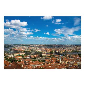 Paisaje urbano de Praga Impresiones Fotograficas