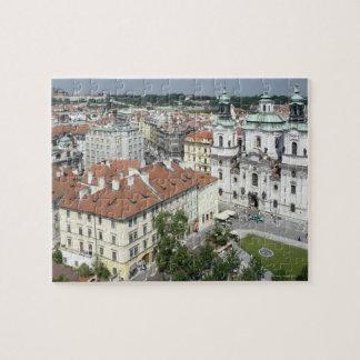 Paisaje urbano de Praga histórica, República Checa Rompecabezas