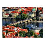 Paisaje urbano de Praga, República Checa Postales