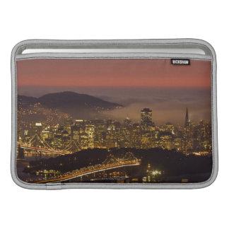 Paisaje urbano de San Francisco Fundas Macbook Air