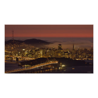 Paisaje urbano de San Francisco Impresiones