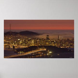 Paisaje urbano de San Francisco Póster