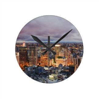Paisaje urbano de Sao Paulo Reloj