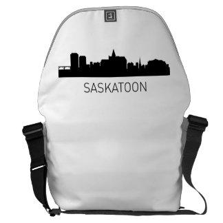 Paisaje urbano de Saskatoon Saskatchewan Bolsa De Mensajeria