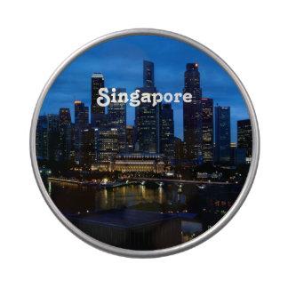 Paisaje urbano de Singapur Latas De Dulces