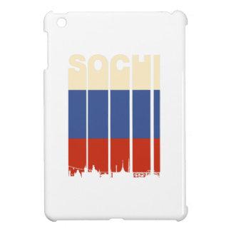Paisaje urbano de Sochi del vintage