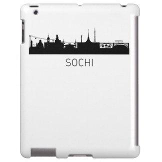 Paisaje urbano de Sochi Rusia Funda Para iPad