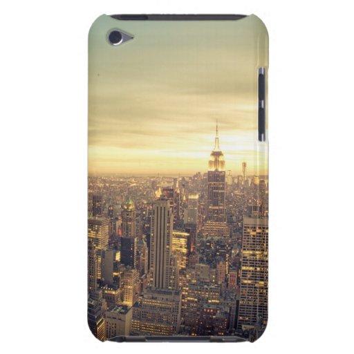 Paisaje urbano del horizonte de los rascacielos de Case-Mate iPod touch funda
