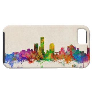 Paisaje urbano del horizonte de Milwaukee iPhone 5 Carcasa
