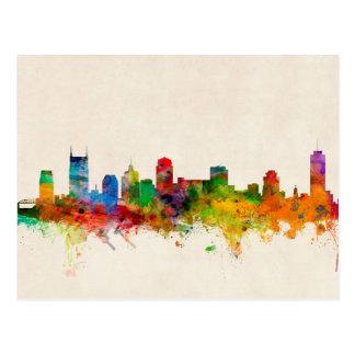 Paisaje urbano del horizonte de Nashville Postales