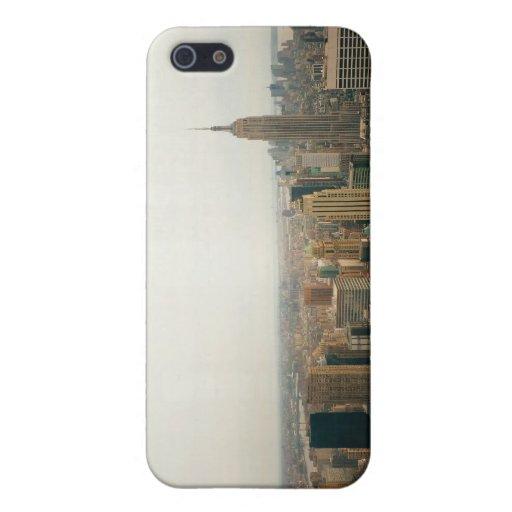 Paisaje urbano del Midtown de New York City iPhone 5 Protectores