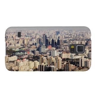 Paisaje urbano elevado de Pekín Funda Para Galaxy S5