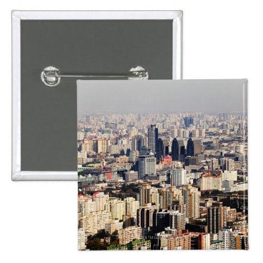 Paisaje urbano elevado de Pekín Pin