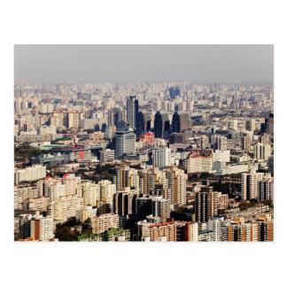 Paisaje urbano elevado de Pekín Postal