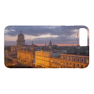 Paisaje urbano en la puesta del sol, La Habana, Funda iPhone 7 Plus