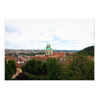 Paisaje urbano en Praga Fotografias