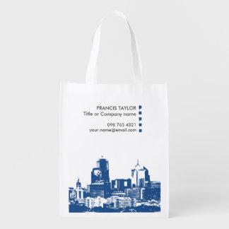 Paisaje urbano general moderno profesional del bolsa de la compra