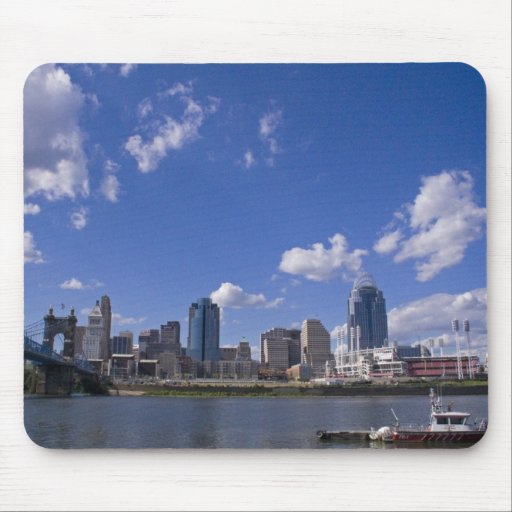 Paisaje urbano Mousepad de Cincinnati